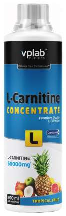VPLab L-Carnitine Concentrate, 500 мл, Tropical Fruit
