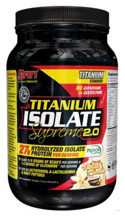 Протеин SAN Titanium Isolate Supreme 2.0 908 г Vanilla Sundae