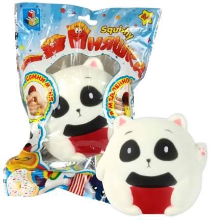 Игрушка-антистресс 1Toy мммняшка squishy панда сидящая T12431