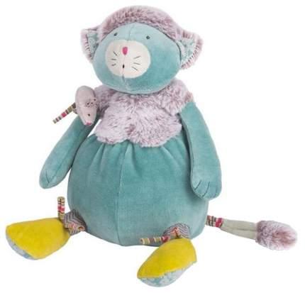 Мягкая игрушка Moulin Roty Котик с мышкой 660024