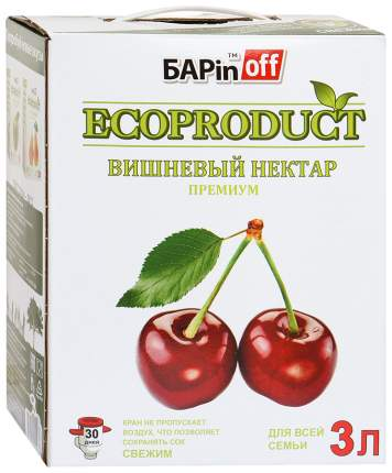 Нектар Барinoff премиум вишневый 3 л