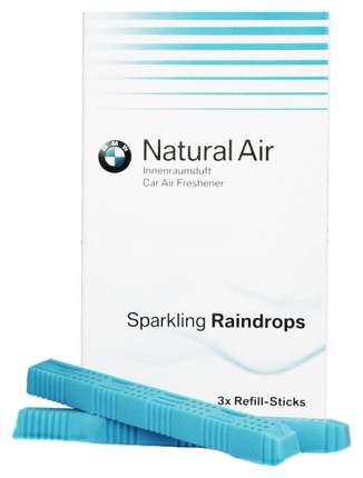 Комплект сменных картриджей освежителя воздуха BMW sparkling raindrops