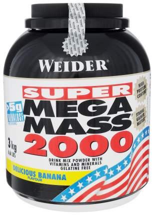 Гейнер Weider Mega Mass 2000 3000 г Delicious Banana