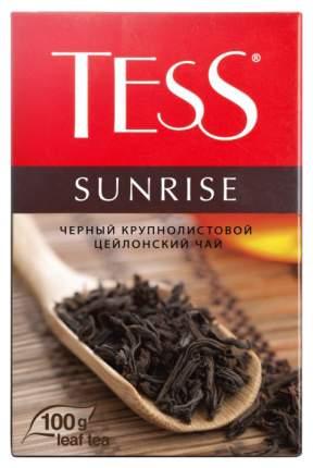 Чай черный Tess sunrise листовой 100 г