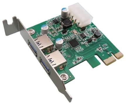 PCI-e контроллер USB ORIENT NC-3U2PELP USB 3,0 NEC D720200 chipset 30223