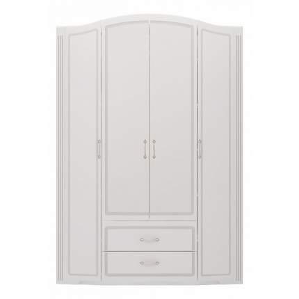 Платяной шкаф Ижмебель Виктория 2 IZH_T0014158 157,8x54,4x228,2, белый