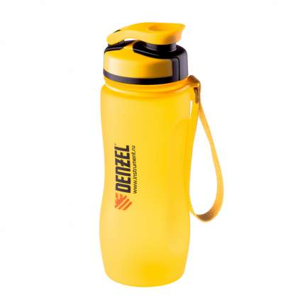 Бутылка Denzel 69490 600 мл yellow