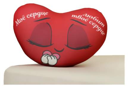 Мягкая игрушка-подушка Mni Mnu Моё сердце любит твоё сердце