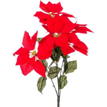 Искусственное растение Lefard Букет Пуансетий (50 см)