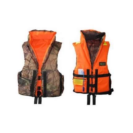 Спасательный жилет ВОСТОК ПР двусторонний 52-56, оранжевый, мужской