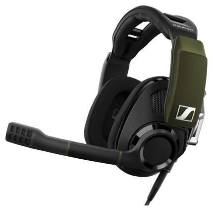 Наушники Sennheiser GSP 550 Black/Green