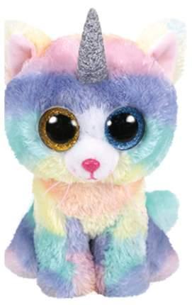 Мягкая игрушка животное TY Кошка с рогом Хизер TY 36454