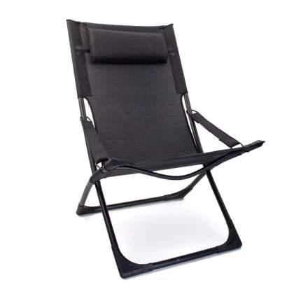 Кресло пляжное ZD09-702 р.84 х 62 х 89 см черный