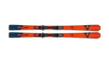 Горные лыжи Fischer RC One 72 MF + RSX Z12 PR 2020, orange/blue, 177 см