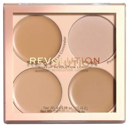 Консилер Makeup Revolution Revolution Matte Base Concealer Kit C5-C8