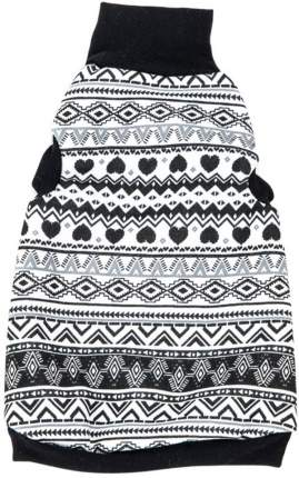 Водолазка для кошек OSSO Fashion, унисекс, утепленная, серая, XL