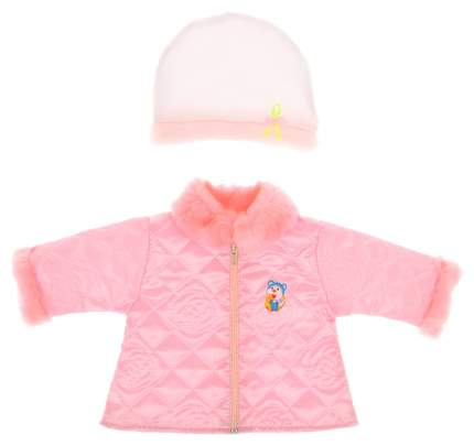 Одежда для пупса 45 см (пальто+шапочка) Б12А Sima-Land