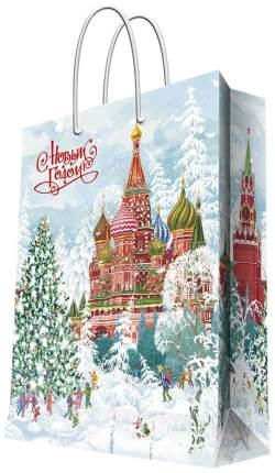 """Пакет бумажный """"Кремль"""", 17,8х22,9х9,8 см"""