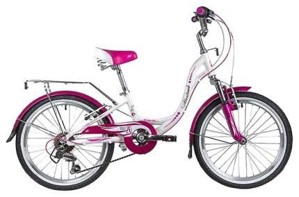 """Велосипед Novatrack """"Angel"""" (цвет: белый, 20"""")"""