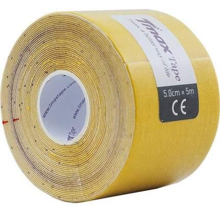 Кинезио тейп Tmax Extra Sticky 5x5, хлопок - 96%, спандекс - 4% 423174