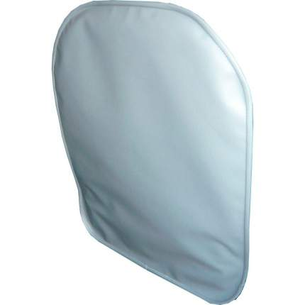 Lux Cover защитный чехол на спинку переднего сиденья из экокожи Frontseat (Серый)