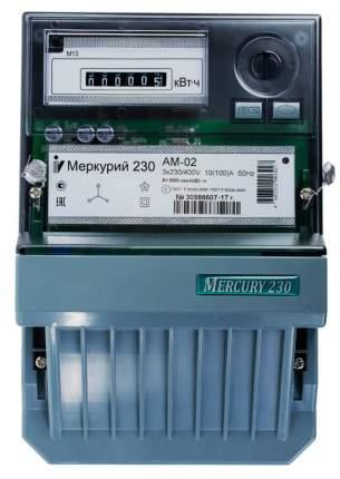 Счетчик электроэнергии Incotex Меркурий 230AM-02, 1 тариф, 3 фазы, 230/400В, 10А