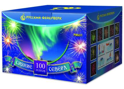 Супер-салют Русский Фейерверк Р8631 Сияние севера 100 залпов