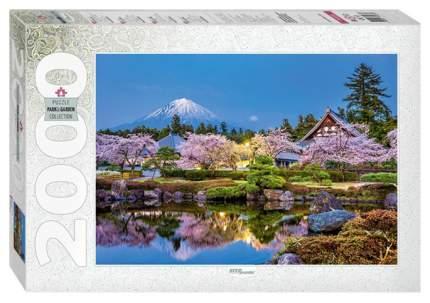 Пазл Step Puzzle Япония весной. Сидзуока, 2000 элементов