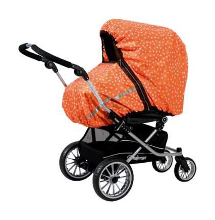 Дождевик универсальный Tullsa (Туллса) orange/white star 81810