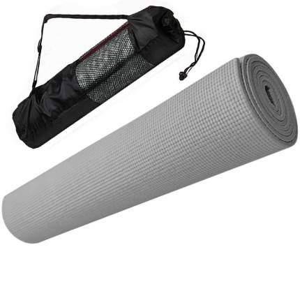 Коврик для йоги Hawk E29260 серый 5 мм