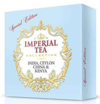 Чай черный цейлонский и индийский ассорти мелкий пакетированный