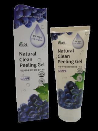 Пилинг-гель скатка для лица с экстрактом виноград Ekel Peeling Gel Grape 180 мл