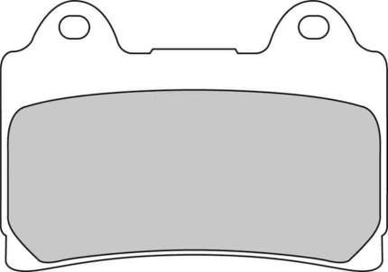Тормозные колодки передние/задние Ferodo FDB449ST для мотоциклов