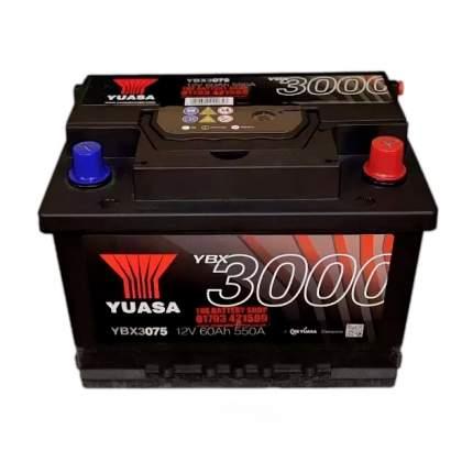 Аккумуляторная Батарея Smf[12v 60ah 550a B13/B14] YUASA