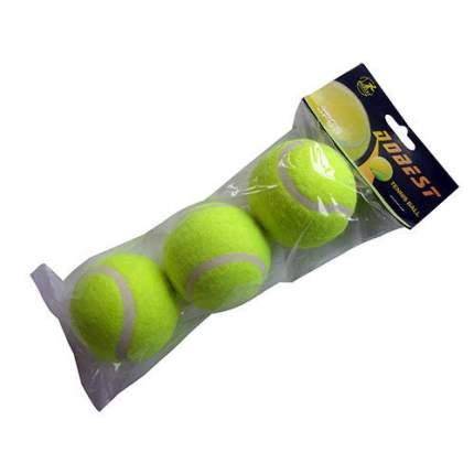 Теннисный мяч Dobest TB-GA03 3 шт. желтый