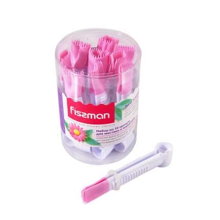 Щипцы кухонные Fissman 8468 Розовый