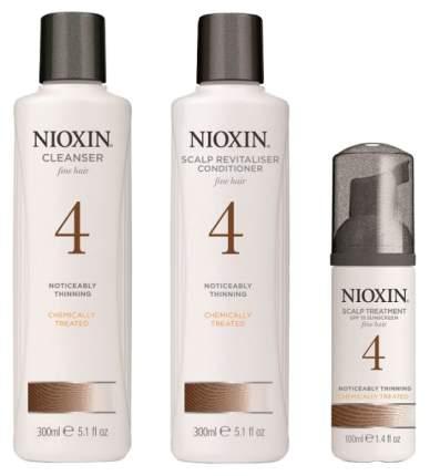 Набор средств для волос Nioxin Starter Kit System 4 300 мл + 300 мл + 100 мл
