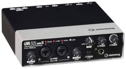 Аудиоинтерфейс Steinberg UR22MKII USB 2.0 24-бит/192 кГц