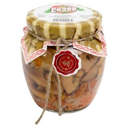 Ассорти Хороший сезон из маринованных грибов 520 г