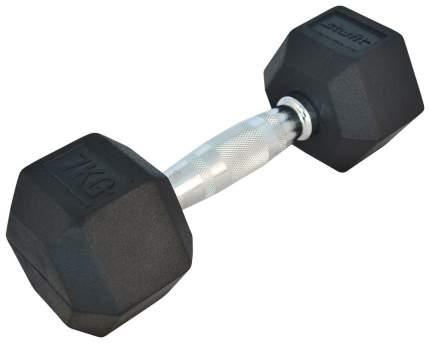 Гантель обрезиненная StarFit DB-301 7 кг