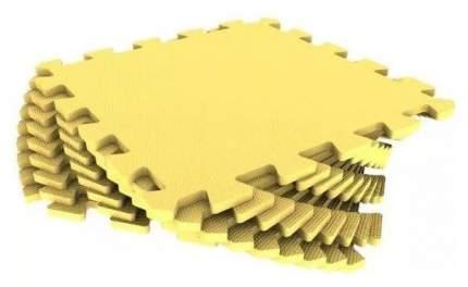 Мягкий пол универсальный Eco Cover 30МП/120 9 деталей 30х30 Желтый с кромками