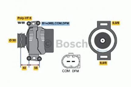 Генератор Bosch 0124625022