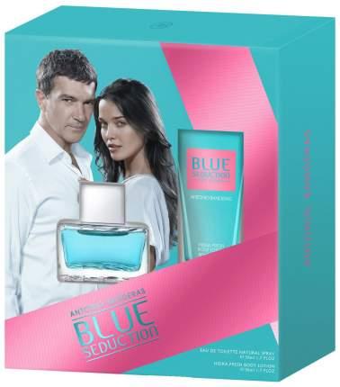 Парфюмерные наборы Antonio Banderas Blue Seduction for Women 50 мл