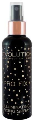 Фиксатор макияжа Makeup Revolution Illuminating Fixing Spray 100 мл