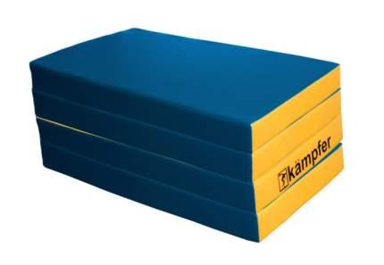 Детский спортивный мат Kampfer №7 (200 x 100 x 10 см) сине-желтый