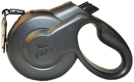Поводок-рулетка Fida Styleash 300см черный