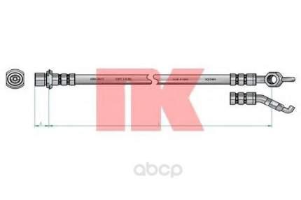 Шланг тормозной системы Nk 8545154 задний