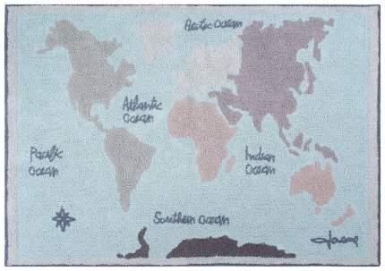 Ковер Lorena Canals Винтажная карта 140*200