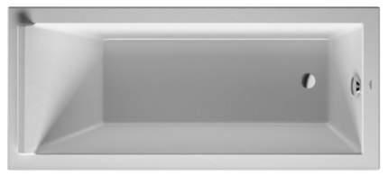 Акриловая ванна Duravit 170х75 без гидромассажа