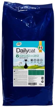 Сухой корм для кошек Dailycat Steri Lite, для стерилизованных, курица и рис, 10кг